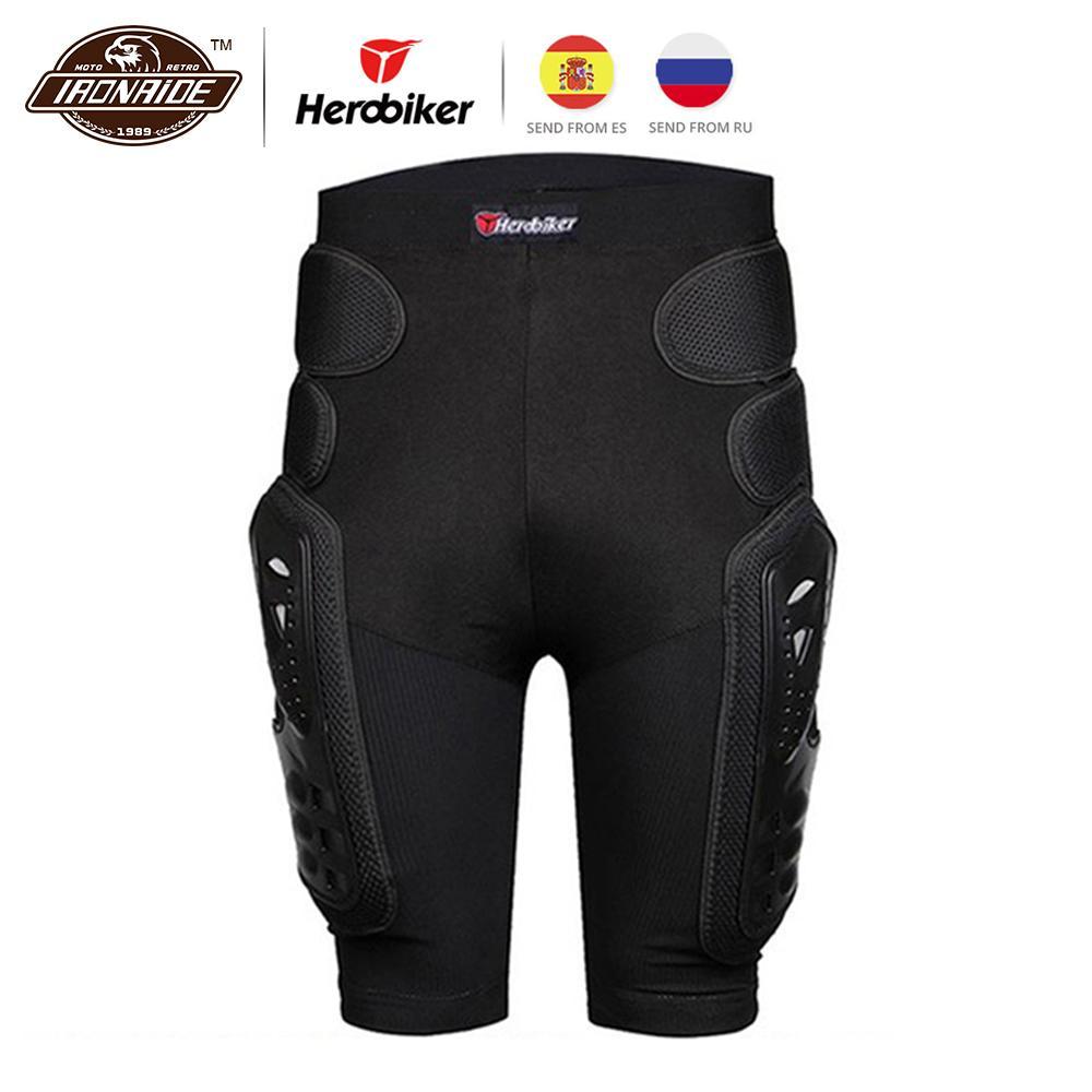 Calças HEROBIKER Motocross Calças Motocross Shorts da motocicleta Shorts Moto Hip Proteção equitação Corrida Equipment