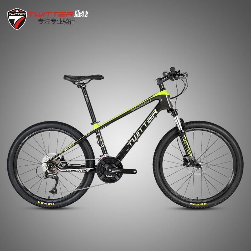 велосипеды 2020a Новый стиль Zhuite Tw2400pro углеродного волокна малого колеса горный велосипед 24-дюймовый 27-Speed Student Женская велосипедная