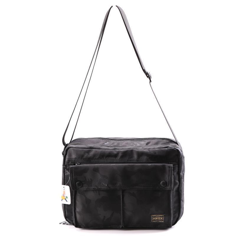 Novo chefe Porter Mochilas Homens Mulheres Japão Cabeça Moda Porter Mochila Waterproof Melhor qualidade Nylon Bags 29/20 / 12 centímetros