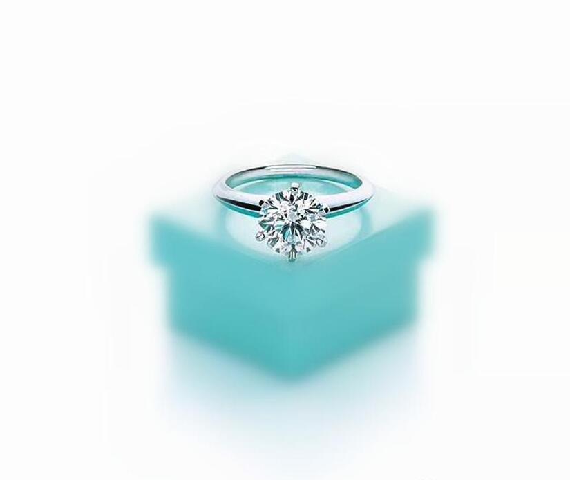 Yüksek sürüm 925 gümüş altı pençe 1-3 karat elmas lüks tasarımcı yüzük çift kadın düğün nişan Aşıklar hediye evlenmek bague