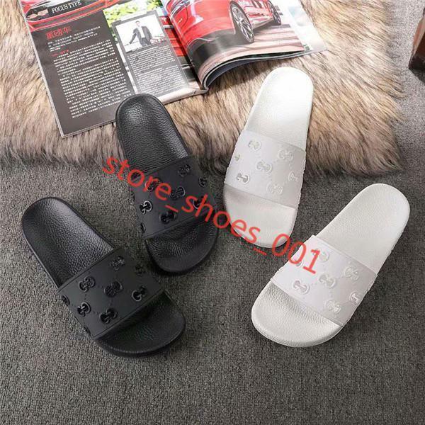 Gucci flip flop Hococal meilleurs hommes Xshfbcl Sandales avec lettre correcte Chaussures de luxe creux luxe Diapo Summer Fashion large Sandales Slipper