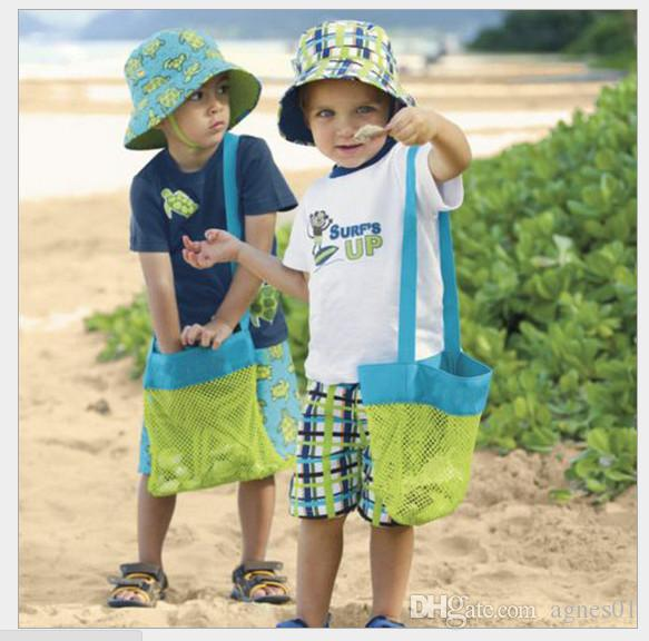2019-children Baby Children Beach Mesh Bag Children Beach Toys Clothes Towel Bag Collection Nappy Mommy Storage Bag