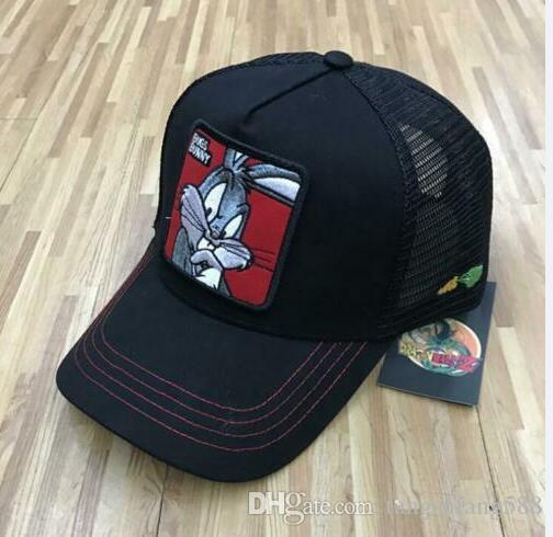 Goorin Bros BUGS BUNNY RED Snapback Trucker BASEBALL Hat Cap Adjustable