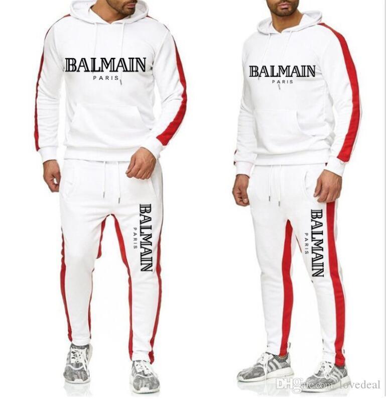 Livraison gratuite Hommes Femmes Vêtements de sport à capuche Sweat Jogger sport survêtements Survêtements Set hoodies pantalons Plus Size S-XXXL 10 couleurs