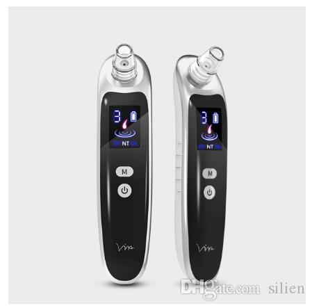 Electric Acne Blackhead Vacuum Cleaner Pore Skin Care Tools Nose Face Deep Cleansing Suction Machine with 6 Head
