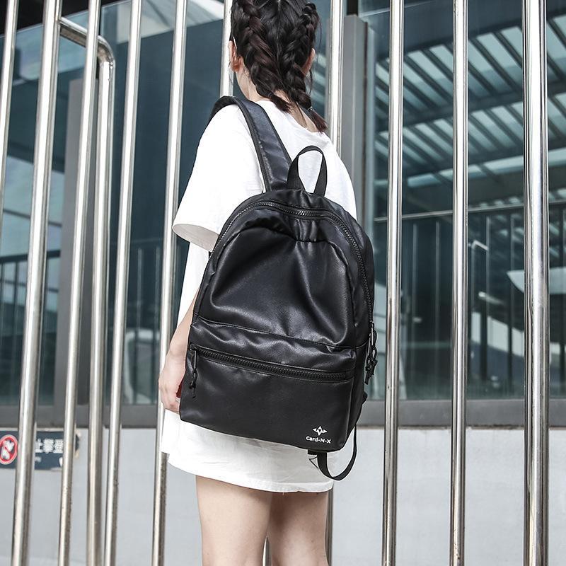 Charismatic2019 Korean Male Both Shoulders Travel A Borsa Youth Fashion Trend Tempo libero Studente universitario Conciso Computer impermeabile pacchetto