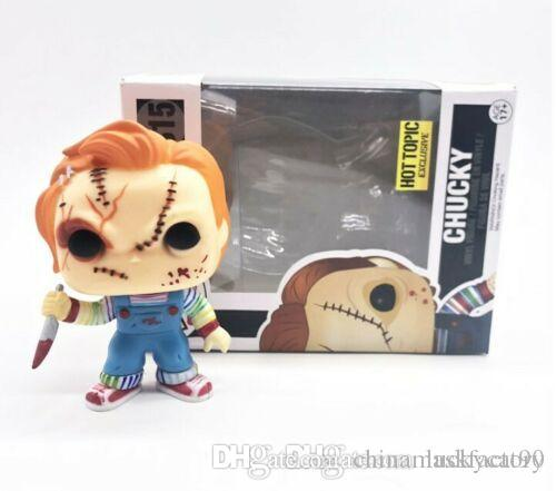 China UK funko pop in box Horror Movie Child's Play Chucky Character 315# Vinyl Dolls