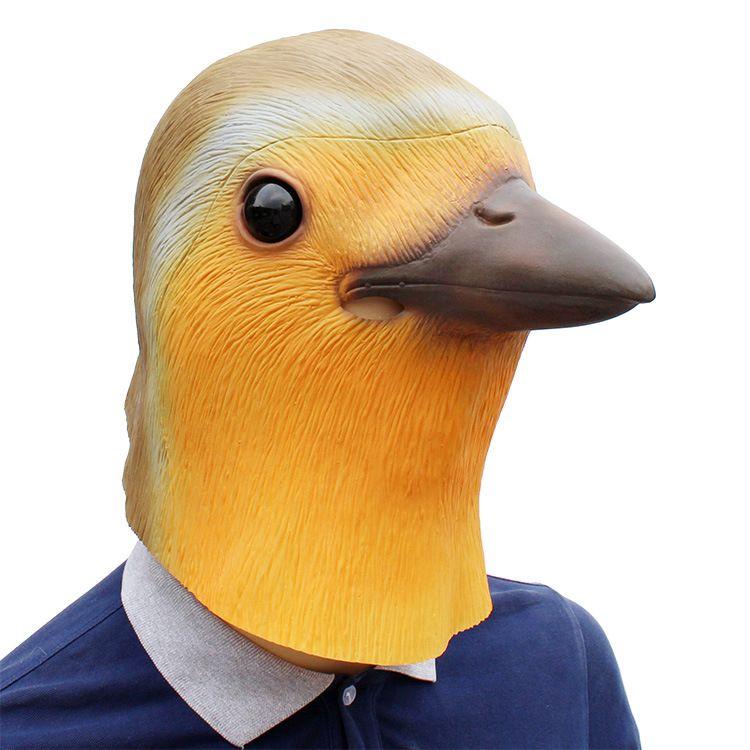 Robin Uccello Maschera di Halloween Costume del partito di travestimento Prop maschera di protezione piena Animal Man Latex Donne Maschera di alta qualità