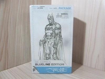 Anime Comic DC Batman Sketches Version Boxed Batman Figur 16cm
