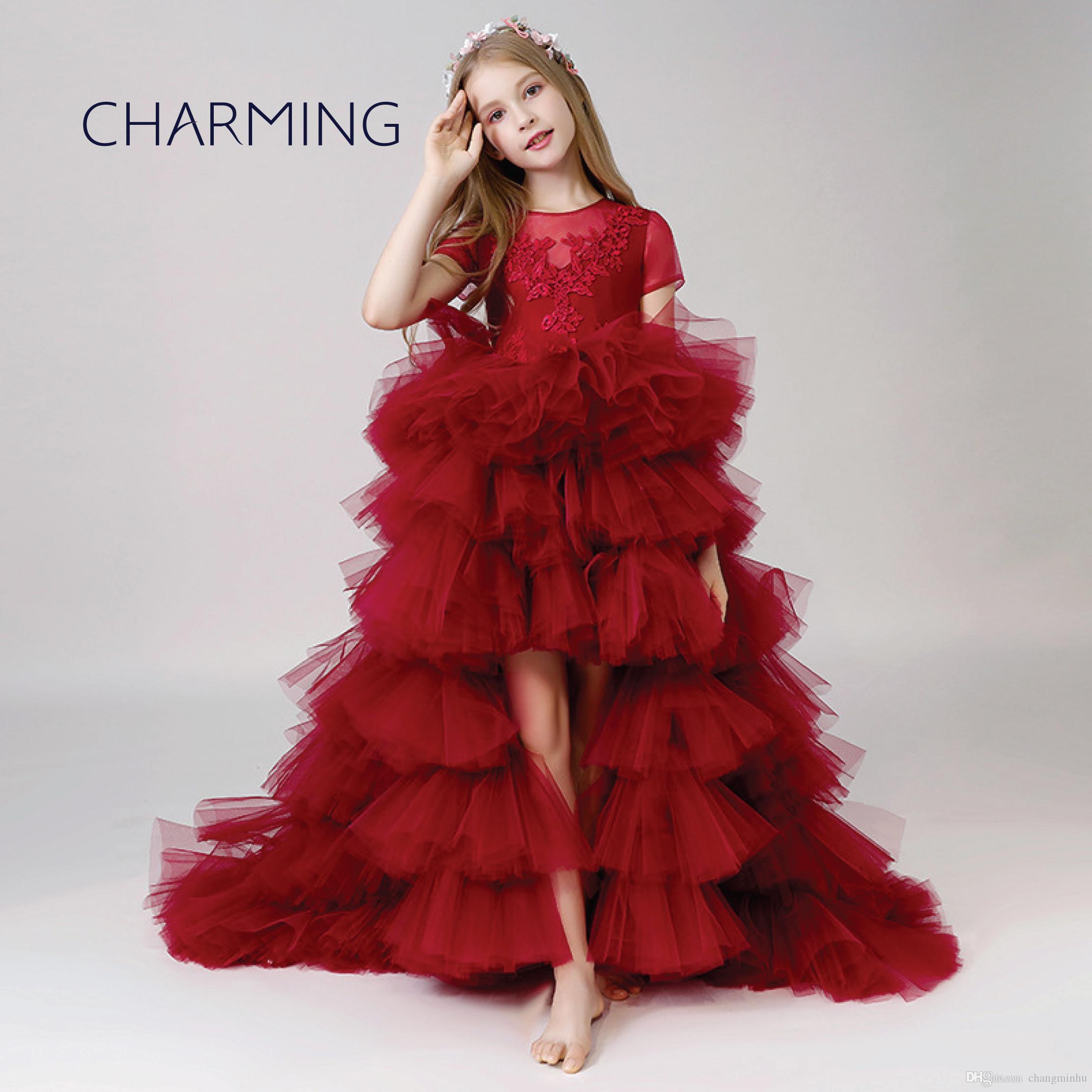 Girls Red Dress Girl Dress Princess