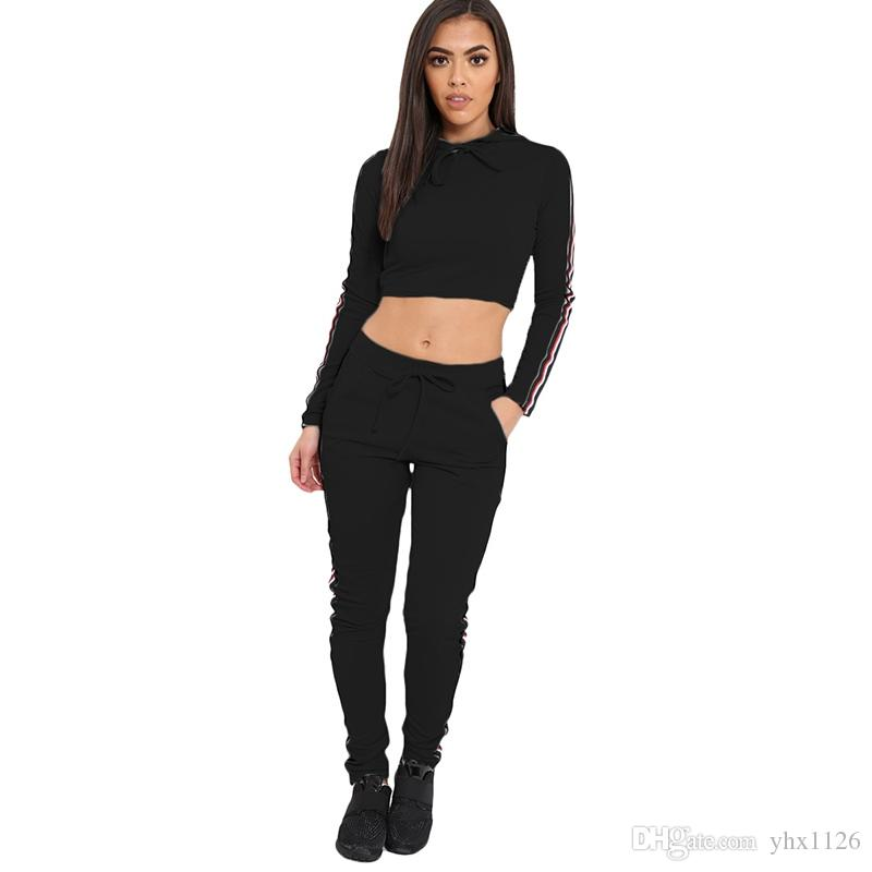 Sports Wear For Women Gym Clothes Sportswear Slim Yoga Set Jogging Suits Lady Workout Exercise Shirts Pants Fitness Clothing #556492