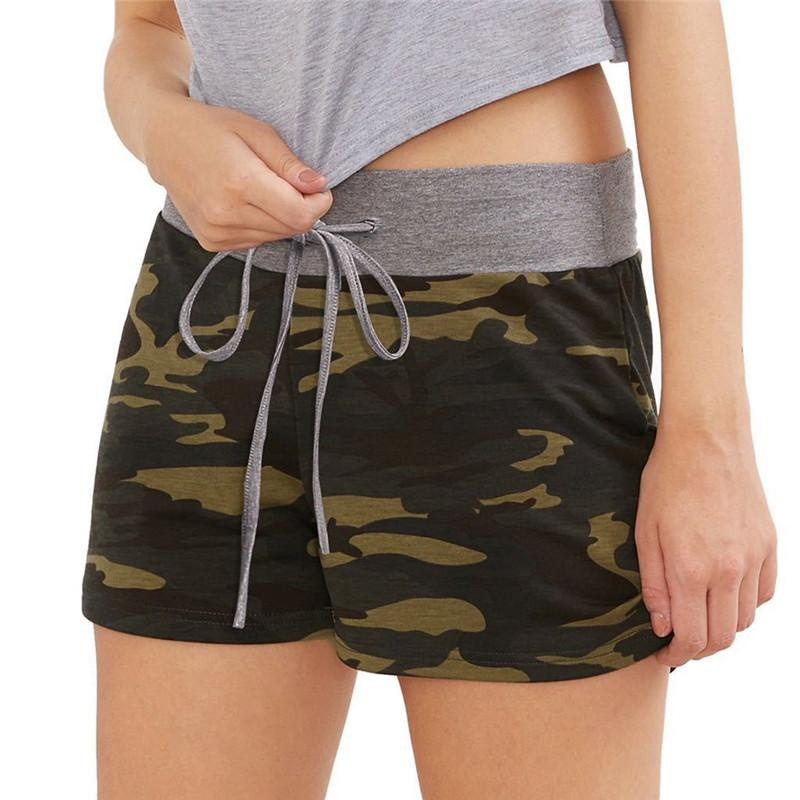 2019 Sommer-Frauen Street Shorts Hipsters Frauen Casual Shorts Gym Kleidung