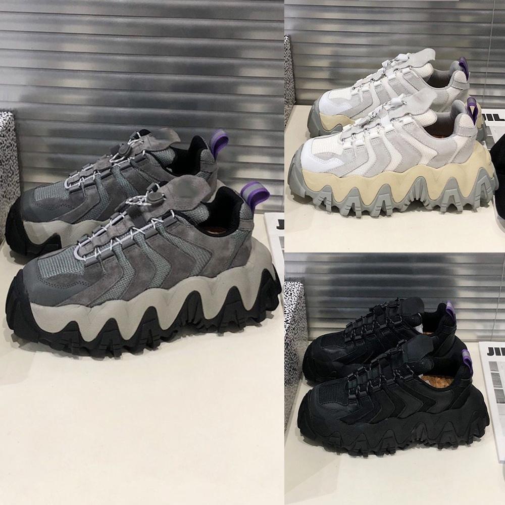 2020 Mais novo Designer Preto calçados casuais New Eytys anjo das sapatilhas de couro genuíno sapato com sapatos pai Caixa de correspondência de cores Shoes L01