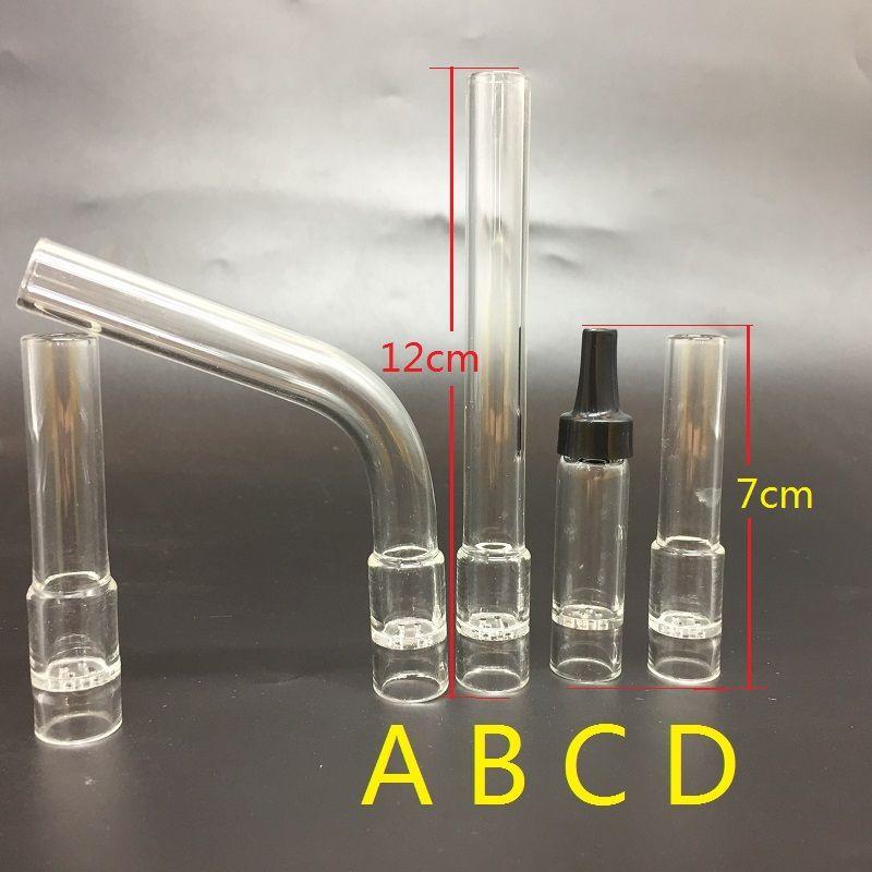 استبدال منفرد زجاج رائحة أنبوب المعبرة الملحقات السيجارة الإلكترونية للهواء منفرد زجاج الشيشة الأنابيب