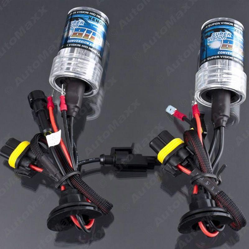2x Araba 35W H1 H3 H7 H8 / H9 / H11 H10 9005 9006 880/881 Xenon HID Ampul Değiştirme Singel Ampüller # 2305
