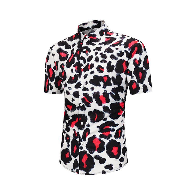 2020 Fashion Sexy Leopard Print Shirt Men 2020 Brand New Nightclub Party Shirts Mens Hipster Streetwear Shirt Camisa Social Masculina From Yesterlike 18 9 Dhgate Com