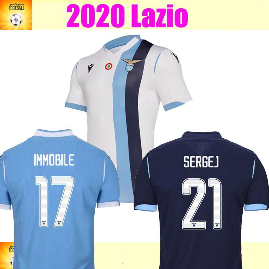 2021 19 20 Lazio Soccer Jersey 2019 SS Lazio Football Shirt LUIS ...