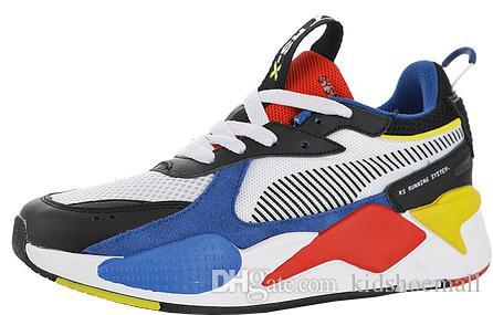 Avec boîte RS-X Toys pour hommes chaussures de course pour hommes baskets baskets femmes jogging femmes sport entraîneurs femmes garçons chaussures chaussures fille