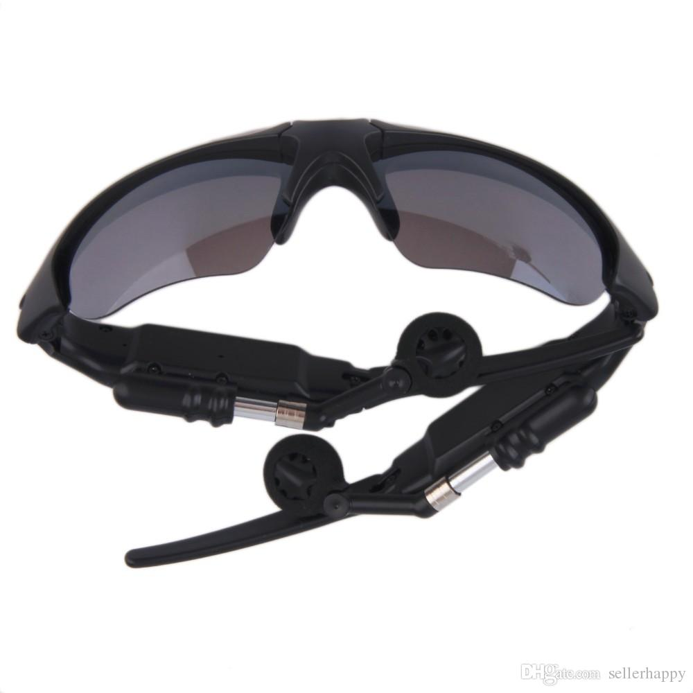 Sunglasses Bluetooth Headset Sunglass Stereo Wireless Sports Headphone Handsfree Earphones mp3 Music Player With Retail Package DHL