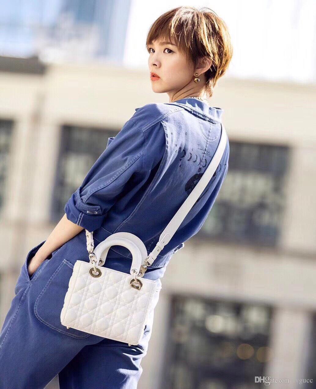 2020 стильный классический леди сумки на ремне из натуральной кожи решетки сумки значок ремень crossbody сумки бренд fasion повседневные сумки size20cm