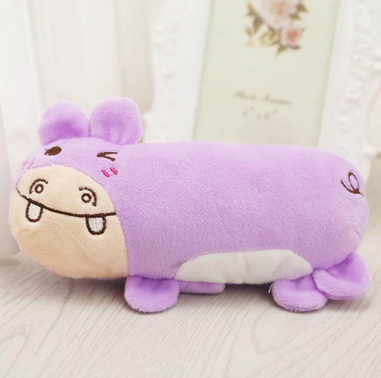 Kreatives Spielzeug mit weicher und reizender pelziger Stimme Kreative Frucht-Karikaturtiere, Katzen, Hunde und Haustier-Produkte