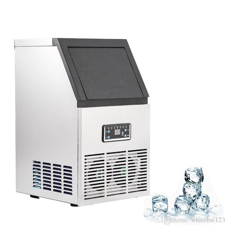 Ice Making Machine Small Type Ice Cube Maker Automatic Ice Machine Large Capacity Bar Coffee Teamilk Shop