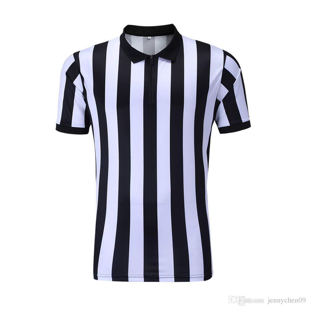 심판 셔츠 남자 농구 축구 축구 스포츠 심판 심판 셔츠 심판 셔츠 저지 의상 짧은 소매 위킹 및 빠른 건조