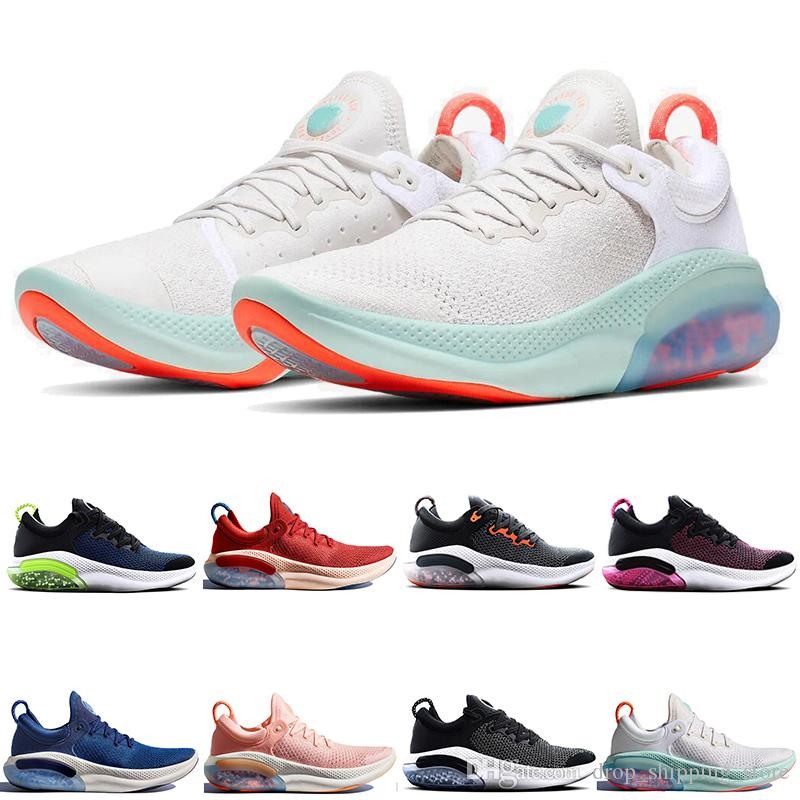 Designer Joyride Free Run FK Shoes Ultra React Oreo Core Black White Mens Trainers Women Running Fly men Sport Shoe setter Knit trainer