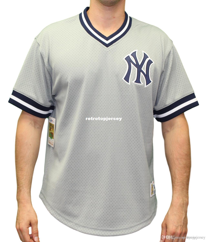 """New York Mitchell & Ness Men's """"Game Winner"""" Mesh Jersey Shirt"""