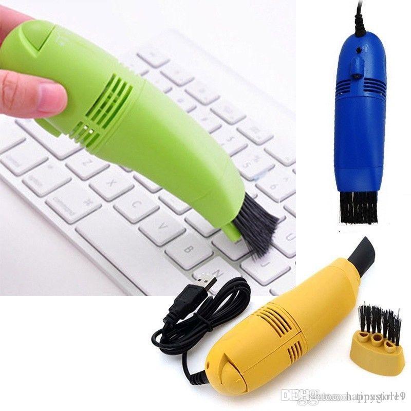 تفاصيل حول USB فراغ منظف لوحة المفاتيح فرشاة لأجهزة الكمبيوتر المحمول عشاق الكمبيوتر الهواء مراقب فرشاة E191