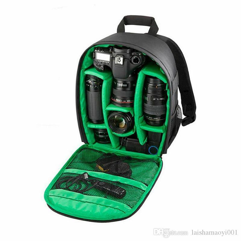 2019 Multi-functional Camera Backpack Video Digital DSLR Bag Waterproof Outdoor Camera Bag Case for Nikon for Canon 25*15*34cm