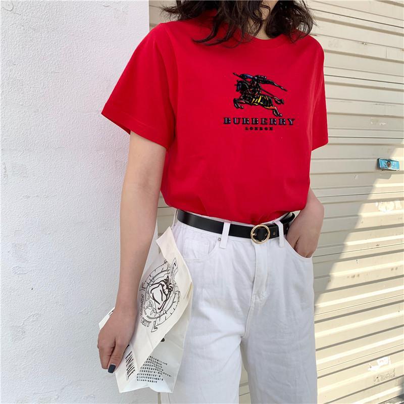 Europa, América del estilo corto niñas - de algodón de manga T - camisa, tamaño XL-m, garantía de calidad.