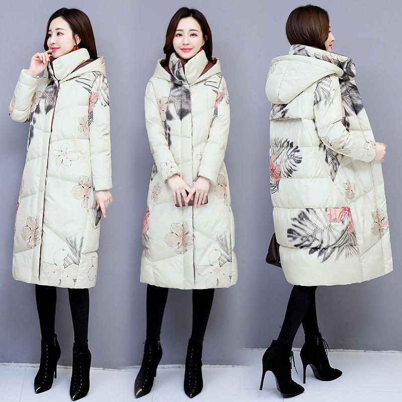 KMETRAM Kış Ceket Kadınlar Moda Kalınlaşmak Parka Kadın Giyim 2019 Kore Aşağı Pamuk Coat Kadın Sıcak Parkas Manteau Femme MY