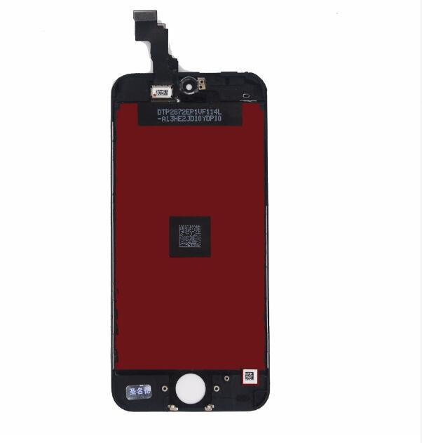 2019 new Grade A LCD Display Touch Screen Digitizer Full Assembly For iPhone 5C Complete Screen Replacement with brightness color