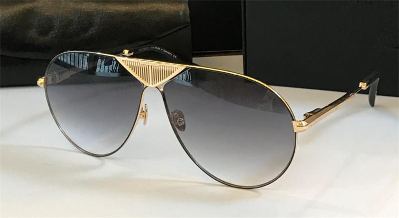 최고 K 골드 남자 안경 자동차는 ROADSTE 패션 디자이너 파일럿 프레임 안경 야외 UV400 선글라스 맨 선글라스