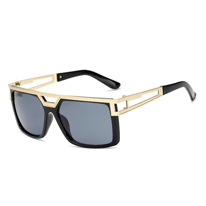 lujo 2020 la caja original gafas de sol populares de lujo para mujer para hombre marca de diseño Plaza del estilo del verano completo gafas de sol vidrios de calidad superior