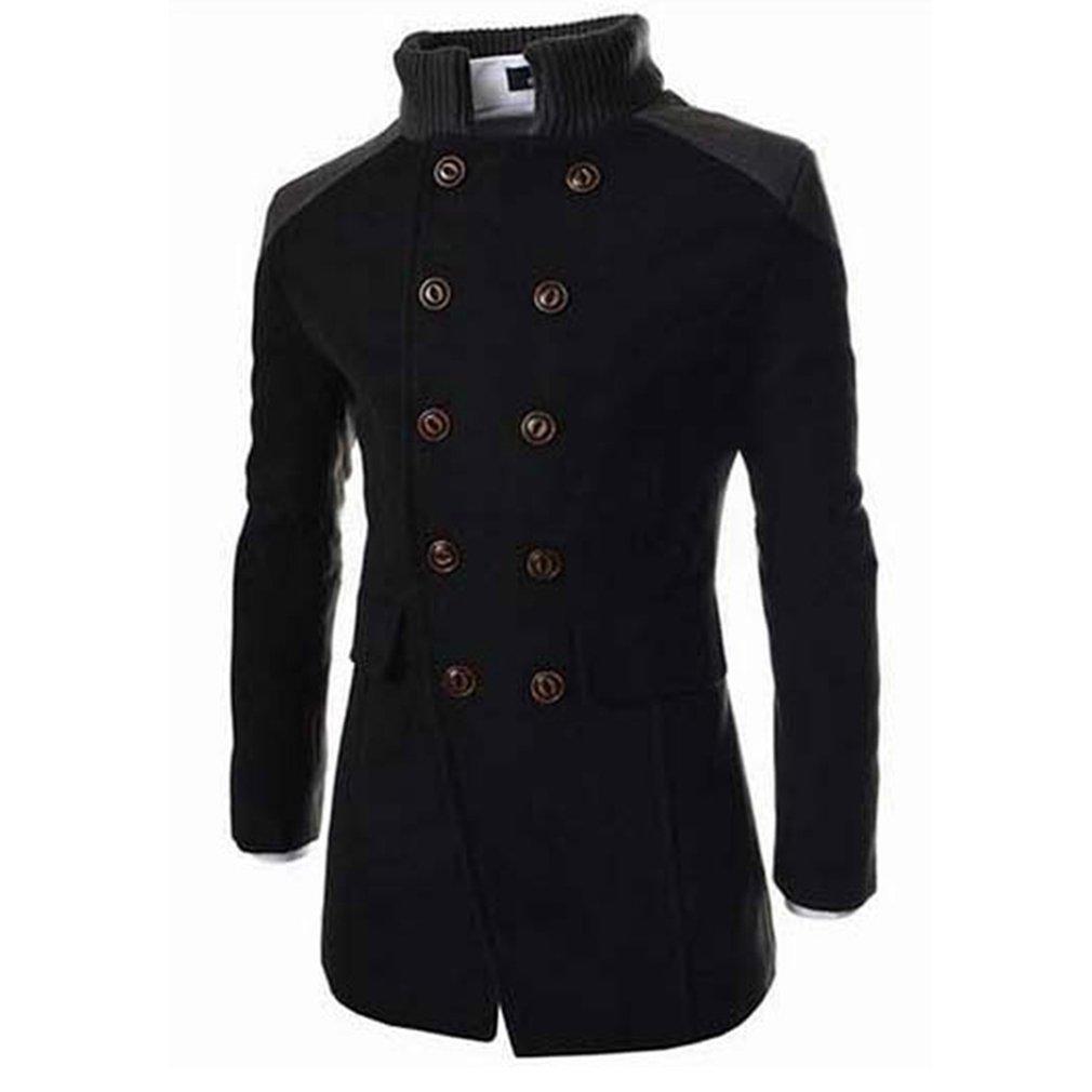 Autunno Inverno Popolare uomini dimagriscono cappotto a maniche lunghe giacca Tutto-Fiammifero di stile per l'uomo della gioventù Comodità Warm Windbreaker cappotto