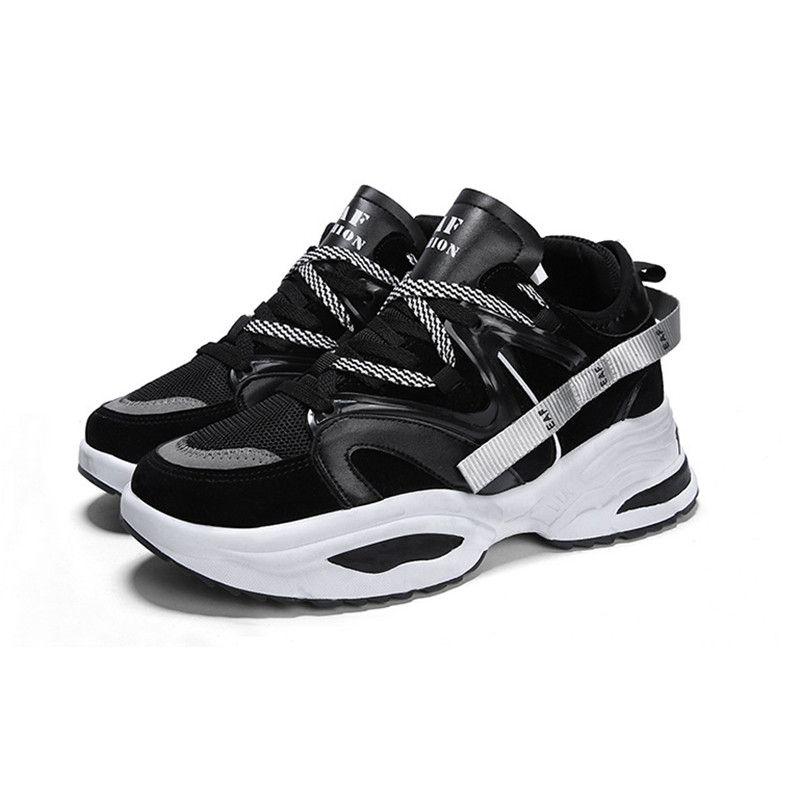 Üçlü S Eğitmenler Beyaz Siyah Elbise De Luxe Sneakers Erkekler Kadınlar Shoes39-44 çalışan 2019 En Ucuz Chaussures Moda Tasarımcısı Ayakkabı
