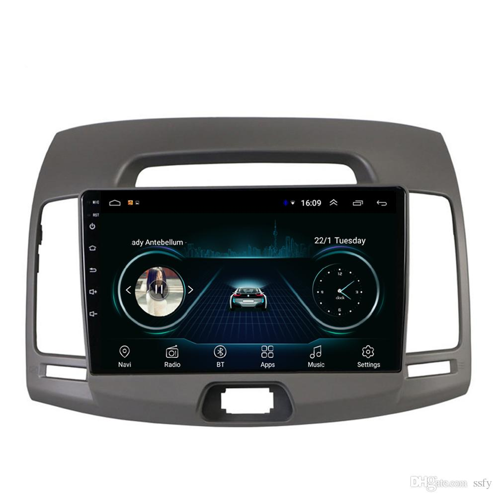 Android car mp3 mp4 player fast delivery Resolution HD1080 display Resolution 1024 * 600 USB for Hyundai elantra 2007-2011 10.1inch