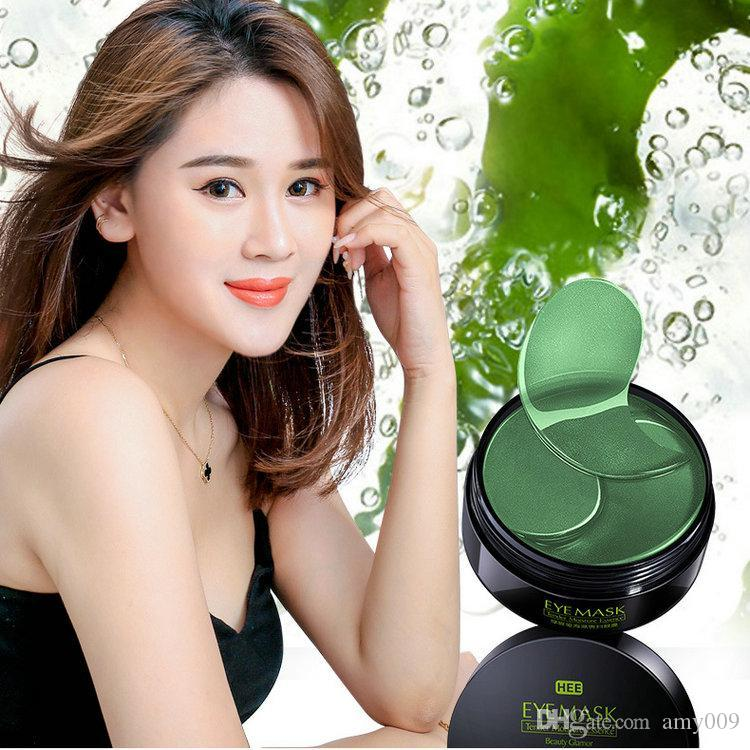 36boxs algae Crystal Collagen Eye Mask Eyes-Cream Anti Wrinkle Anit Age Patch 60PCS Sleep Gel Hydroge Patches Under Eyes Bags Pads korea