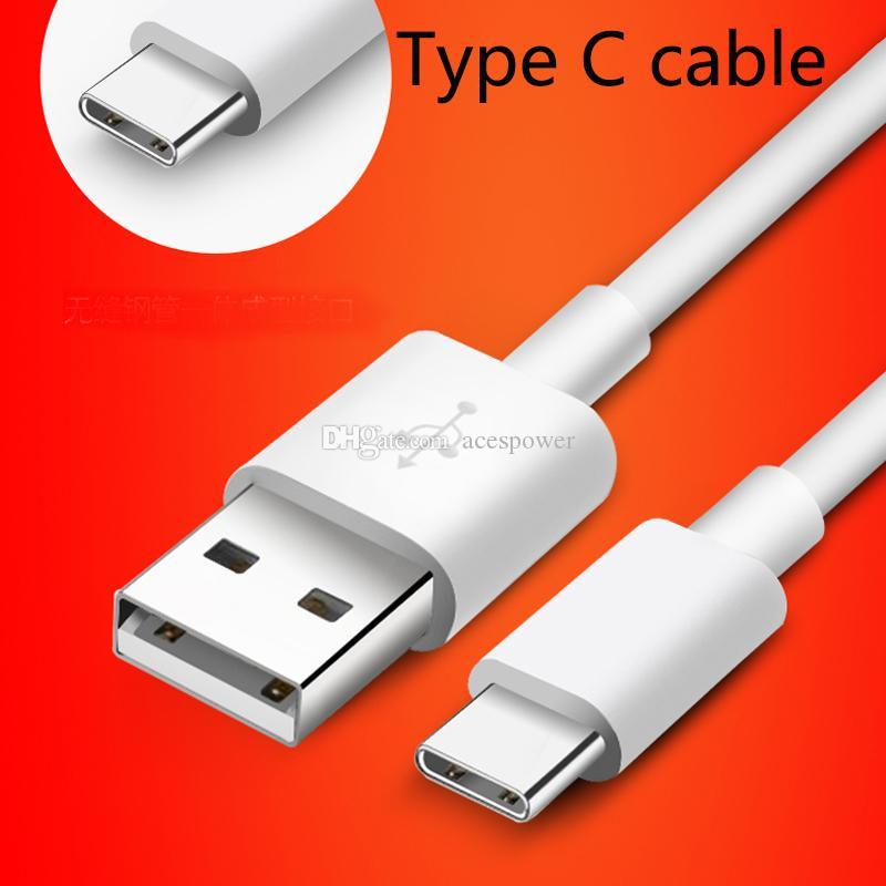 C Tipi Mikro USB 1M Veri Kablosu için Samsung Note c tipi 10 Artı S9 S8 Artı S10 Çıktı 2.1A Sync Veri Kablosu