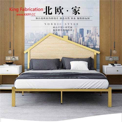 2019 European Modern Princess Iron Bed Iron Frame Double Single Children  Bed From Kkffcc, $351.76 | DHgate.Com