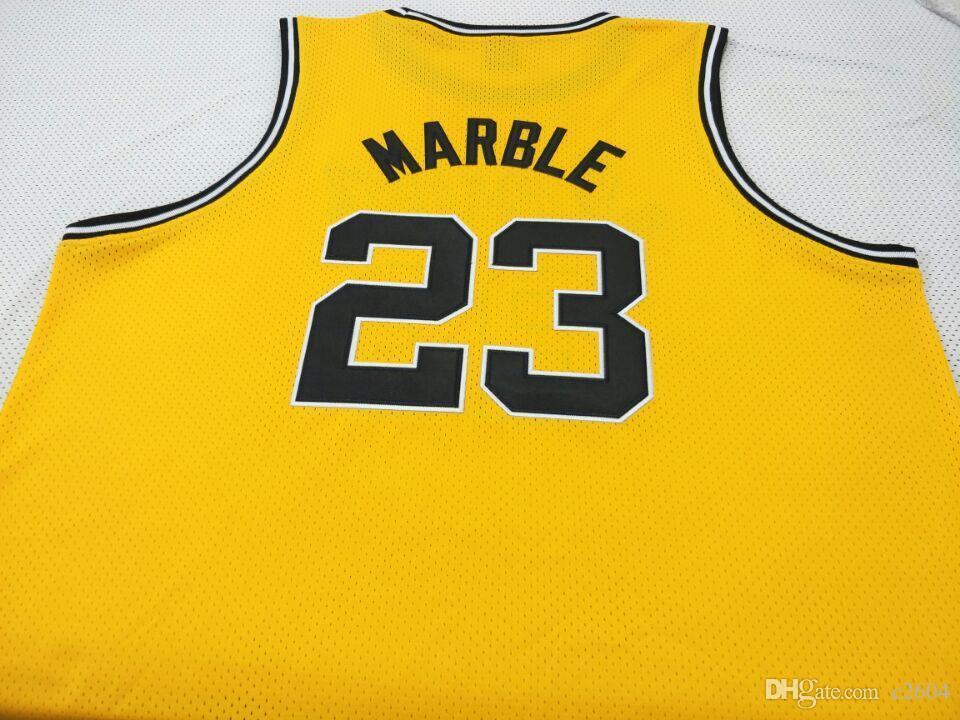 Benutzerdefinierte Männer Jugend Frauen # 23 Roy Marble Iowa Hawkeyes College Basketball-Jersey-Größe S-4XL oder benutzerdefinierten beliebigen Namen oder Nummer Jersey