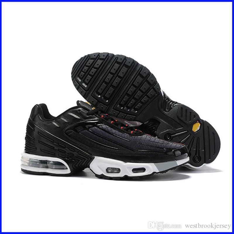 Marca TN Plus 3 zapatillas de deporte para hombre del diseñador Tns zapato zapatos al aire libre Gimnasio fitness Blanco Negro Azul Rojo Entrenadores Deporte Zapatos para barato