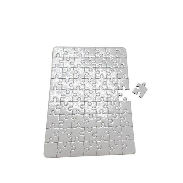 Çocuklarda DIY Beyaz Termal Transfer Sedef için DIY Isı transfer baskı bulmaca kağıtları A4 boyutunda boş Jigsaw bulmaca kağıt