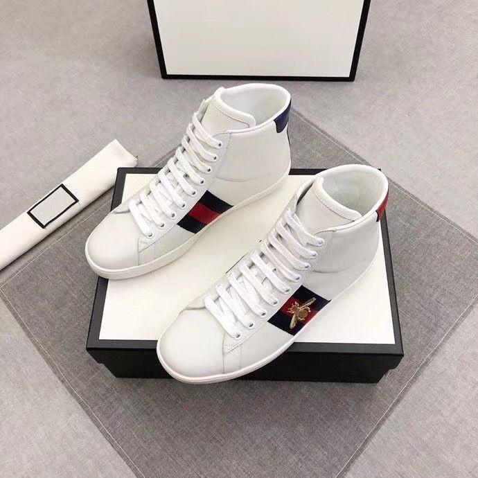 Gucci Shoes design di lusso fare le scarpe vecchie sporchi nuovi inverno 2020 classico paio di scarpe scarpe da ginnastica alte tempo libero pattini piani casuali di sport KM03