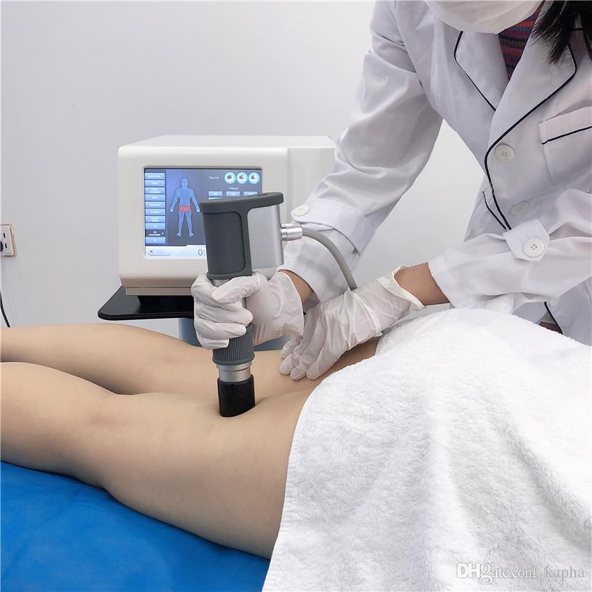Cellulite-Reduktion extrakorporale Stoßwellentherapiegeräte Maschine / Beliebte extrakorporalen Stoßwellentherapie / ESWT ED Stoßwellentherapie