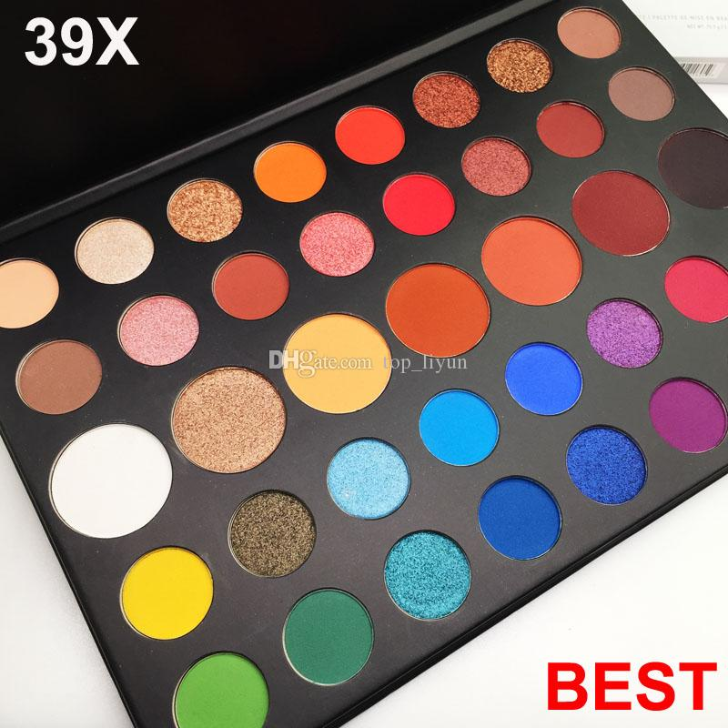 Brand Makeup Eyeshadow Palette 39 Colors Eye shadow Shimmer Matte 39x Charles Eyeshadow Palette Beauty Cosmetics Free Shipping DHL