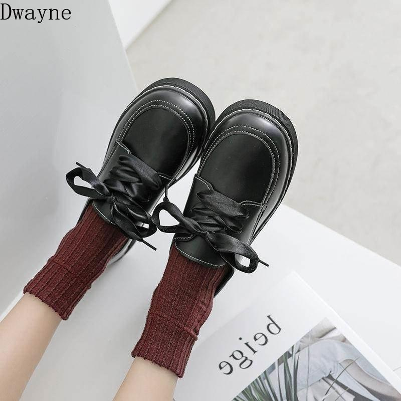 Новые 2020 Британский стиль небольшие кожаные ботинки корейской версии плоской обуви без скольжения