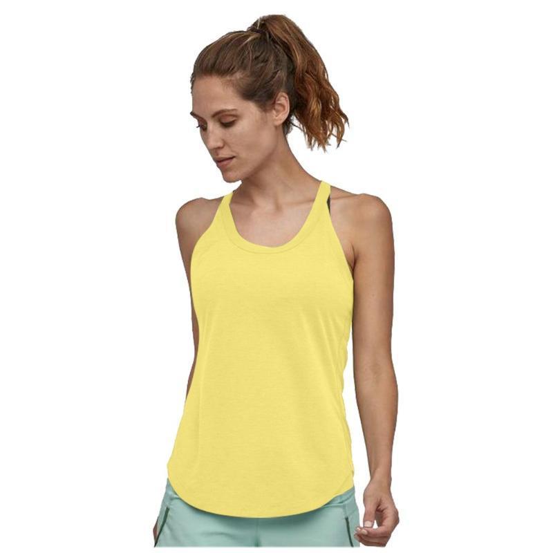 Las mujeres superiores atractivos casaul Yoga Deportivo sólido camisas lazo entrenamiento Scoop tapas del tanque de cultivo de verano Tops Mujeres top Deportivo Mujer # 3